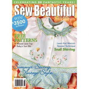 Sew Beautiful July/August 2007: Digital Issue #113