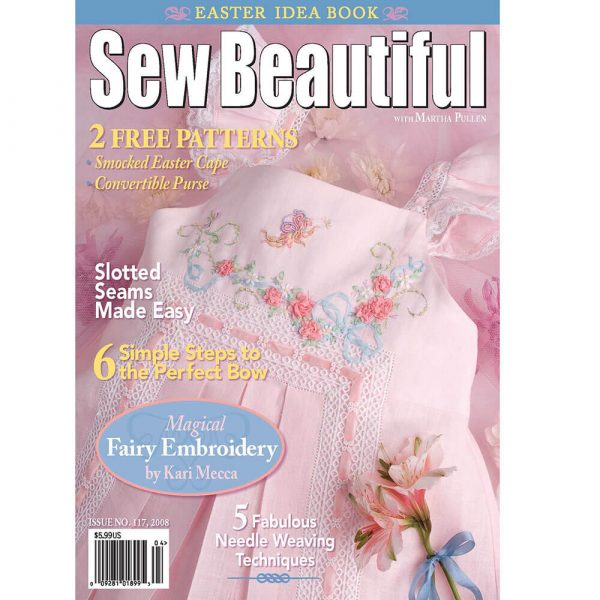 Sew Beautiful March/April 2008: Digital Issue #117