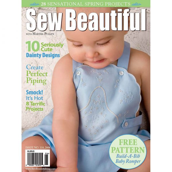 Sew Beautiful May/June 2008: Digital Issue #118