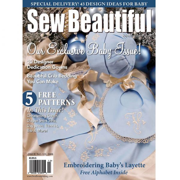 Sew Beautiful November/December 2008: Digital Issue #121