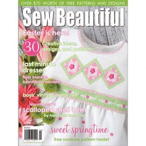 Sew Beautiful March/April 2009: Digital Issue #123