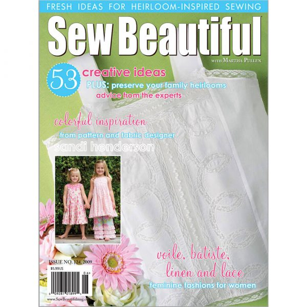 Sew Beautiful May/June 2009: Digital Issue #124