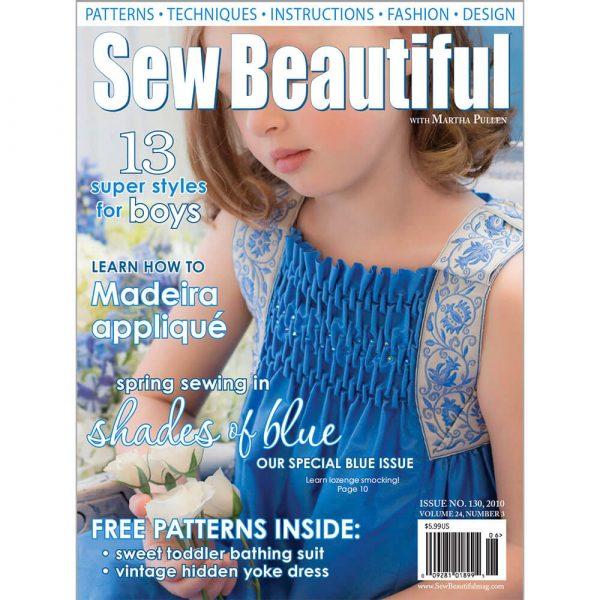 Sew Beautiful May/June 2010: Digital Issue #130