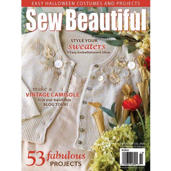 Sew Beautiful September/October 2010: Digital Issue #132