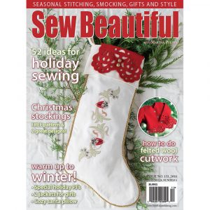 Sew Beautiful November/December 2010: Digital Issue #133