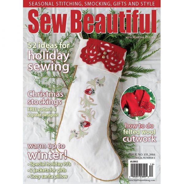 Sew Beautiful November/December 2010: Digital Issue #133