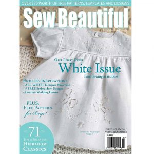 Sew Beautiful January/February 2011: Digital Issue #134