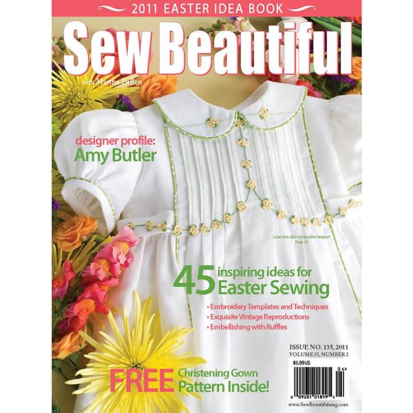 Sew Beautiful March/April 2011: Digital Issue #135