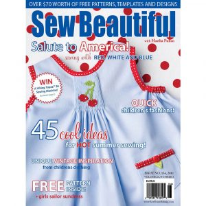 Sew Beautiful May/June 2011: Digital Issue #136