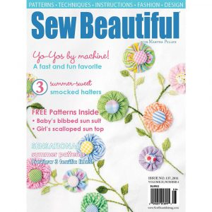 Sew Beautiful July/August 2011: Digital Issue #137