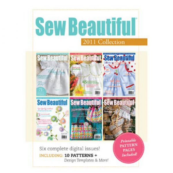 2011 Sew Beautiful Digital Collection