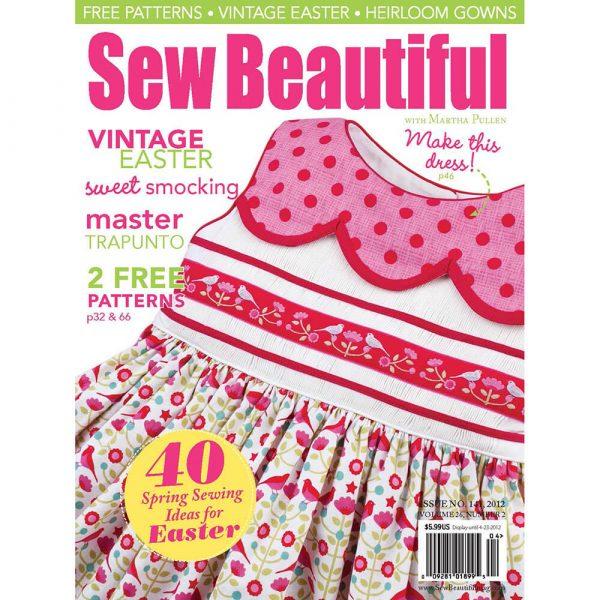 Sew Beautiful March/April 2012: Digital Issue #141
