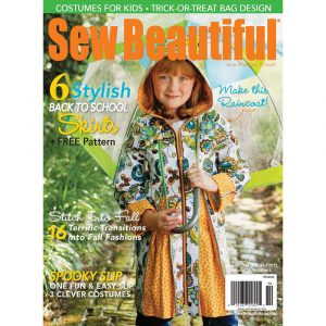 Sew Beautiful September/October 2012: Digital Issue #144