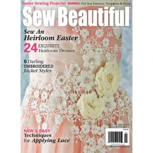 Sew Beautiful January/February 2013: Digital Issue #146
