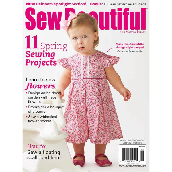Sew Beautiful May/June 2013: Digital Issue #148