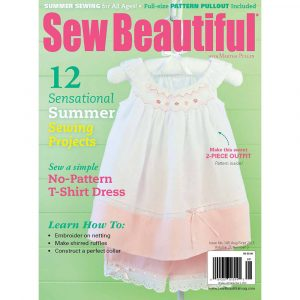 Sew Beautiful August/September 2012: Digital Issue #149