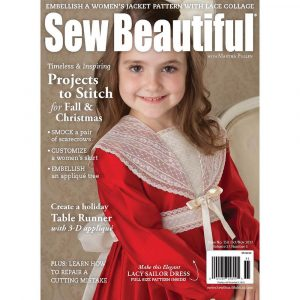 Sew Beautiful October/November 2012: Digital Issue #150