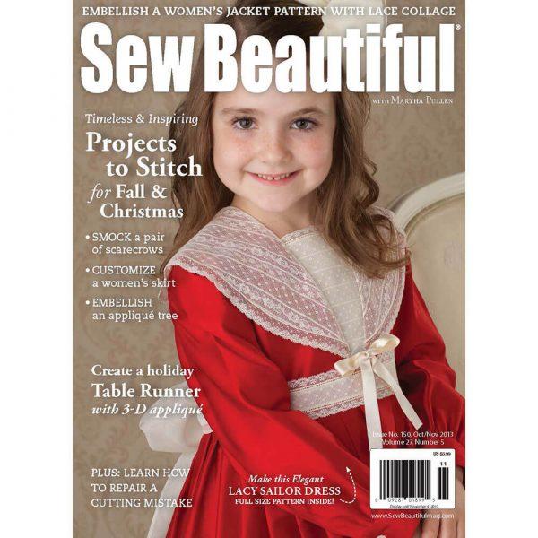 Sew Beautiful October/November 2012: Digital Issue #150