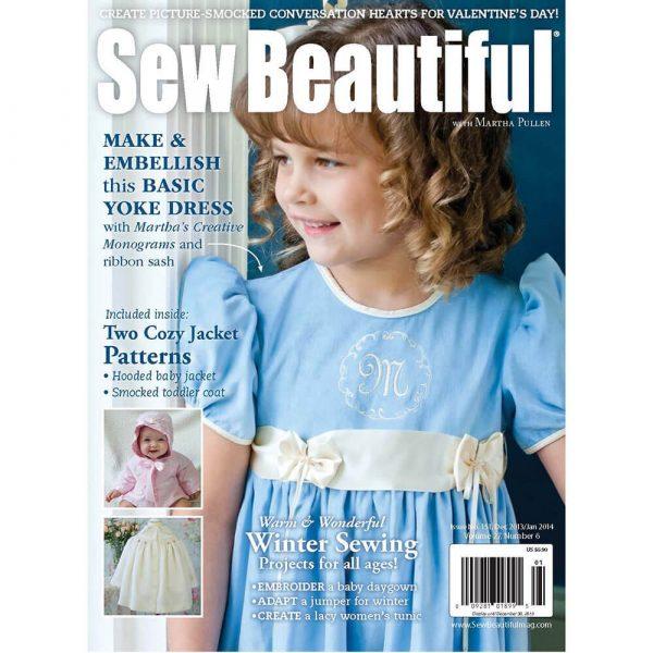 Sew Beautiful December 2012/January 2013: Digital Issue #151
