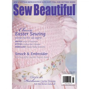 Sew Beautiful February/March 2014: Digital Issue #152