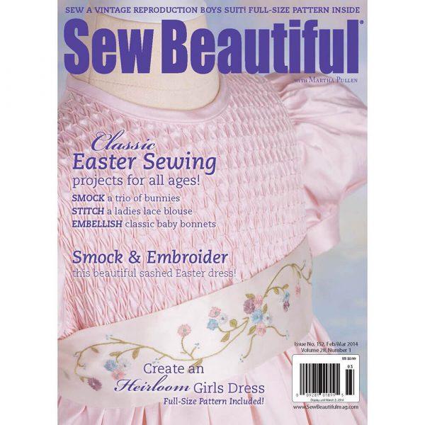 Sew Beautiful February/March 2014: Digital Issue #152
