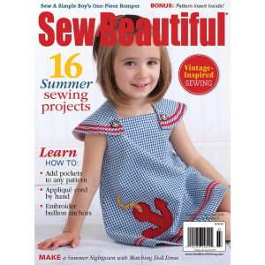 Sew Beautiful June/July 2014: Digital Issue #154