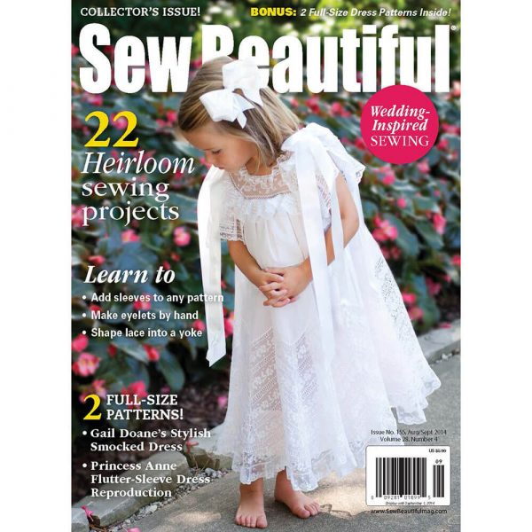 Sew Beautiful August/September 2014: Digital Issue #155