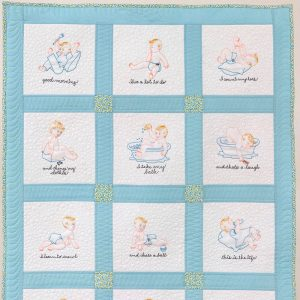 Baby's Busy Day Collection and Quilt Project