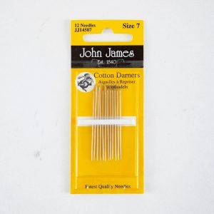John James Cotton Darners size 7