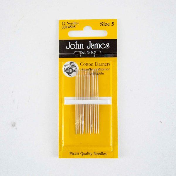 John James Cotton Darners size 5