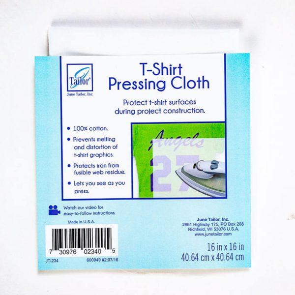 tshirt pressing cloth