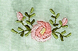 Cutwork Bow, Rose & Cross