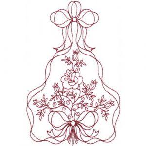 Ribbon-Framed Roses