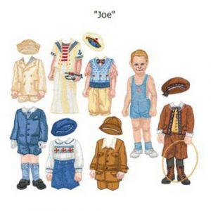 2005 Paper Dolls: Martha & Joe