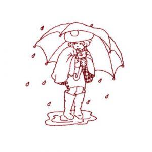 Rain, Rain, Go Away and Cascading Bow