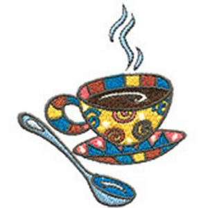 Cup O' Java and Floral Basket