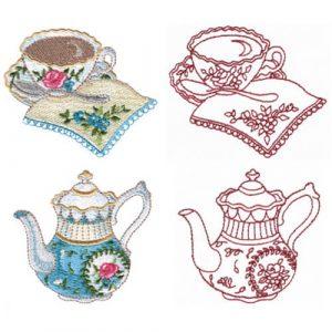 Tea Serving & Teapot
