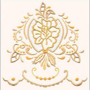 Regal Rose Medallion