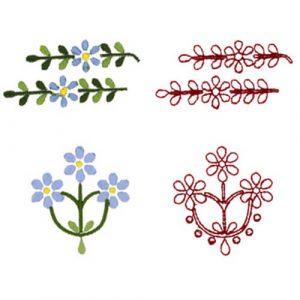 Floral Motifs 1 & 2