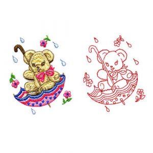 Rainy Day Teddy Bear