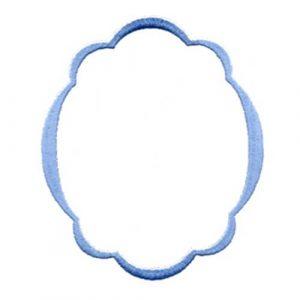 Oval Satin Wreath