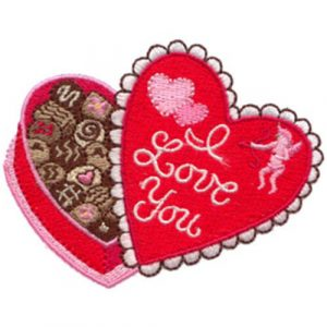 I Love You Chocolate Box