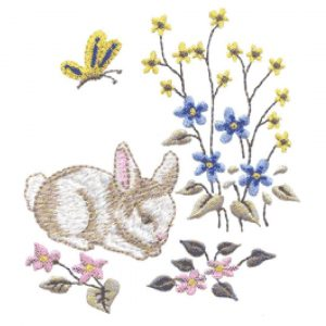 New Spring Bunnies and Single New Spring Bunny