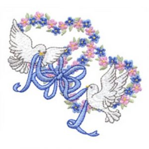 Lovey Doves and Wedding Rings