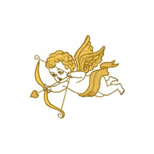 Cupid with Bow and Joy to the World