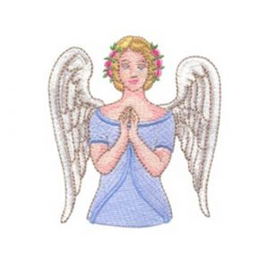 Angel with Hands Clasped and Messengers Sent by God