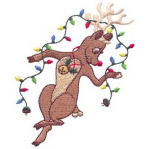 2011 Snowflakes and Dancing Reindeer