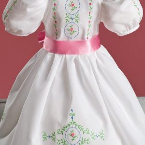 """In-the-Hoop 18"""" Doll Dress Project"""