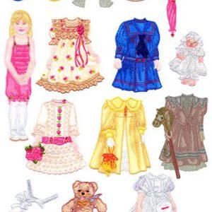 2011 Paper Doll Designs: Joanna