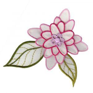 3D Applique Flower